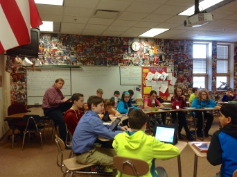 Sixth Grade Socratic Seminar - Evidence-Based Discussion