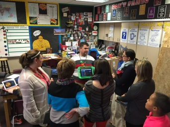 Teachers Visit Cross-District to Share Instructional Strategies