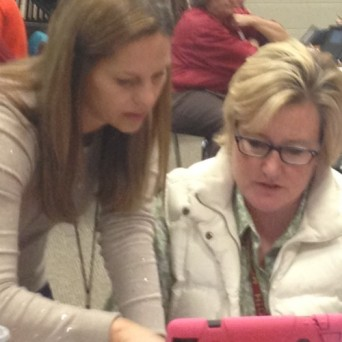 Teachers Learn New Skills Together