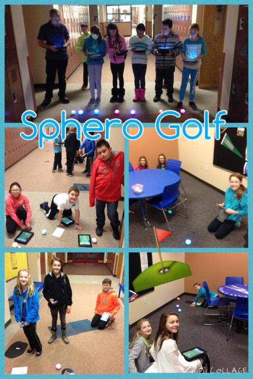 Coding Spheros to Play Golf