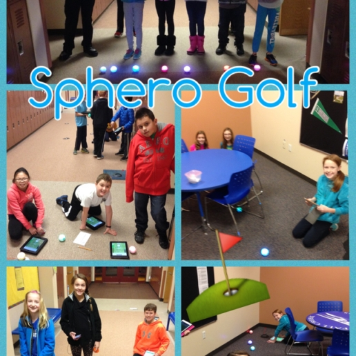 Coding Spheros to Play Golf