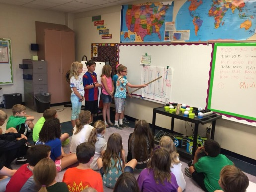 Students Share Learning with Peers